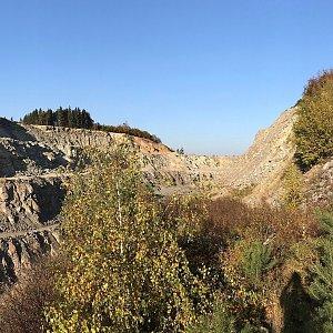 Martin Matějka na vrcholu Maršovický vrch (14.10.2019 16:32)