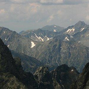 Bouřka na vrcholu Prostredný hrot (25.6.2020 12:38)