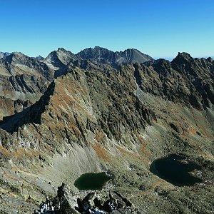 Bouřka na vrcholu Hrubý vrch (25.10.2021 13:03)