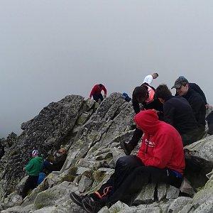 Dana na vrcholu Kôprovský štít (24.7.2019 12:49)