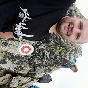 Petr Petrik na vrcholu Kôprovský štít (15.7.2020 15:00)