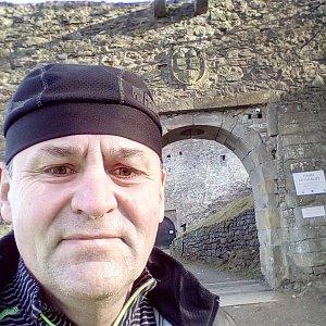 Li Be na vrcholu Hukvaldy - hradní vrch (27.12.2020 17:15)