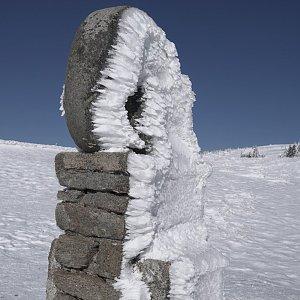 Patejl na vrcholu Králický Sněžník (24.3.2020 10:07)