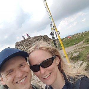 Michaela Karásková na vrcholu Králický Sněžník (27.6.2020 15:54)