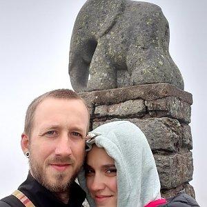 Michaela Hilscherová na vrcholu Králický Sněžník (29.5.2020 13:18)