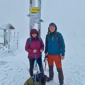 cadic na vrcholu Králický Sněžník (17.10.2020 13:56)
