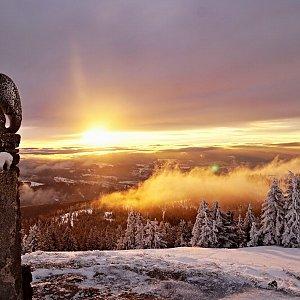 Patejl na vrcholu Králický Sněžník (27.2.2021 21:32)