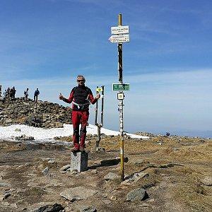 Pepino na vrcholu Králický Sněžník (20.4.2019 13:18)