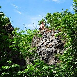 Iveta Válová na vrcholu Baba (2.6.2021 10:41)