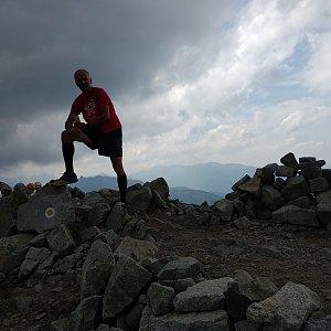 Joch a Dingo na vrcholu Jahňací štít (28.7.2019 14:31)