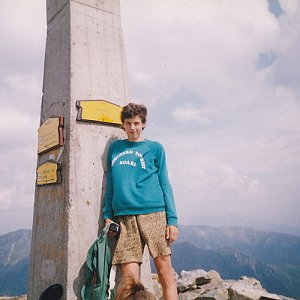 krupjan na vrcholu Baranec (1995)