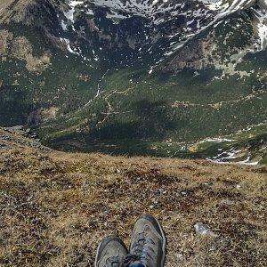 Radka Nezvalová na vrcholu Baranec (1.5.2018 13:49)