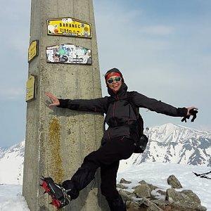 Yfča na vrcholu Baranec (3.4.2019 7:37)