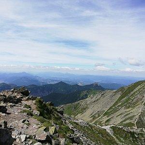 Martin Vlček na vrcholu Baníkov (29.6.2019 12:20)