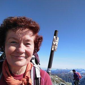 Anna na vrcholu Pachoľa (21.9.2019 11:57)