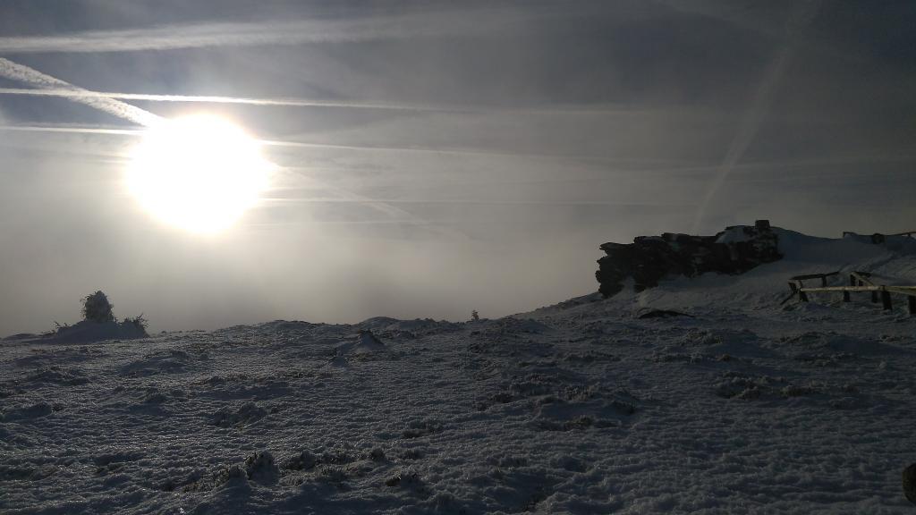 David Kašný na vrcholu Keprník (6.1.2018 14:06)