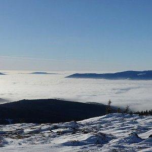 Petr Mikeska na vrcholu Keprník (25.1.2020 15:59)