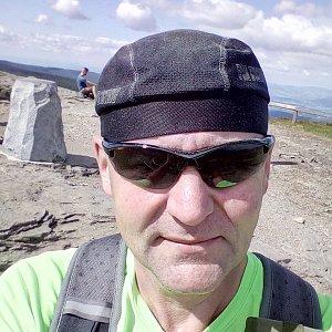 Li Be na vrcholu Keprník (4.7.2020 9:53)