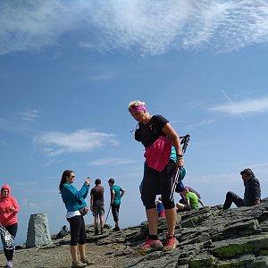 Katka na vrcholu Keprník (30.8.2018 11:30)