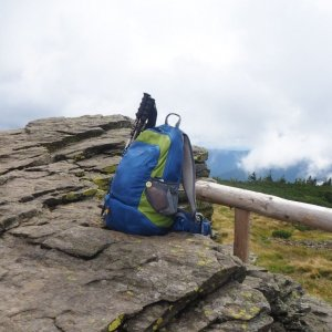Jiřina na vrcholu Keprník (28.8.2021 11:30)