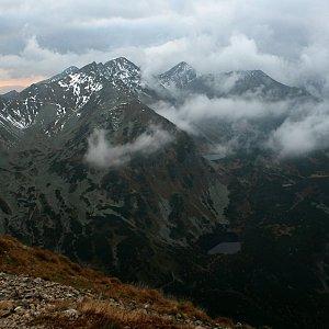 Bouřka na vrcholu Volovec (29.9.2017 18:00)
