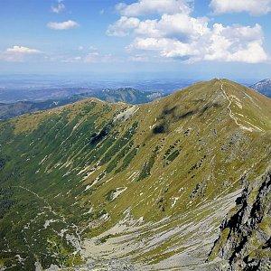 Vladimír na vrcholu Volovec (23.8.2018 11:45)