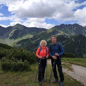 Sparkler na vrcholu Volovec (14.7.2020 14:34)