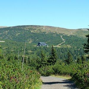 Mountainer na vrcholu Zadní Planina (20.8.2011 11:05)