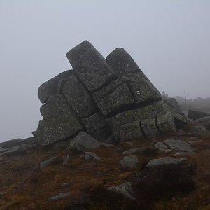 Jar Faldy na vrcholu Harrachovy kameny (14.11.2020 16:38)