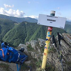 Boris na vrcholu Baraniarky (21.8.2021 10:23)