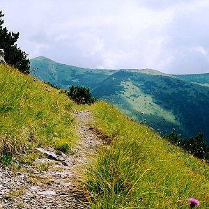 Bouřka na vrcholu Biele skaly (4.7.2003 11:20)