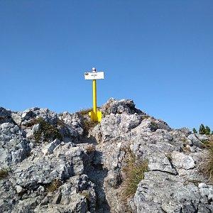 Katka na vrcholu Biele skaly (21.9.2018 14:16)