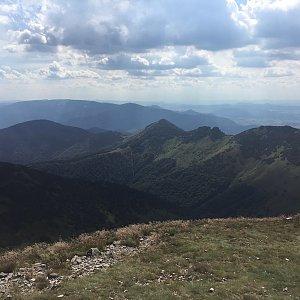 Alexandr Starý na vrcholu Biele skaly (16.7.2018 16:55)