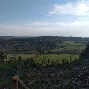Eliška na vrcholu Jánský vrch (12.5.2021 20:00)