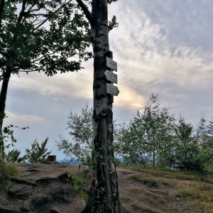 Martin Matějka na vrcholu Jánský vrch (22.8.2021 18:42)