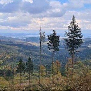 Kateřina Turčeková na vrcholu Koníček (10.10.2020 14:00)