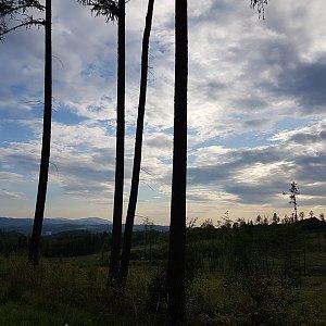 Marcela Kubíčková na vrcholu Na Kamenném (1.6.2021 18:15)