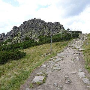Tomáš Vašíček na vrcholu Mužské kameny (7.8.2020 12:54)