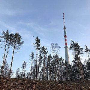 Martin Matějka na vrcholu Kopanina (24.2.2021 16:30)