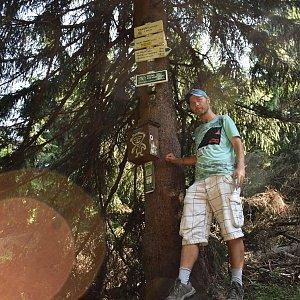 David Dudzik na vrcholu Travný (29.7.2019 16:04)