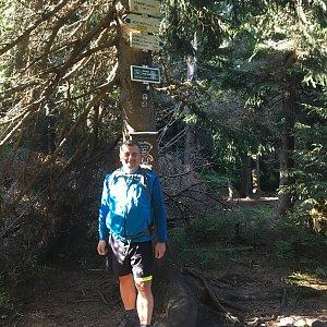 Jarek na vrcholu Travný (15.9.2019 9:05)