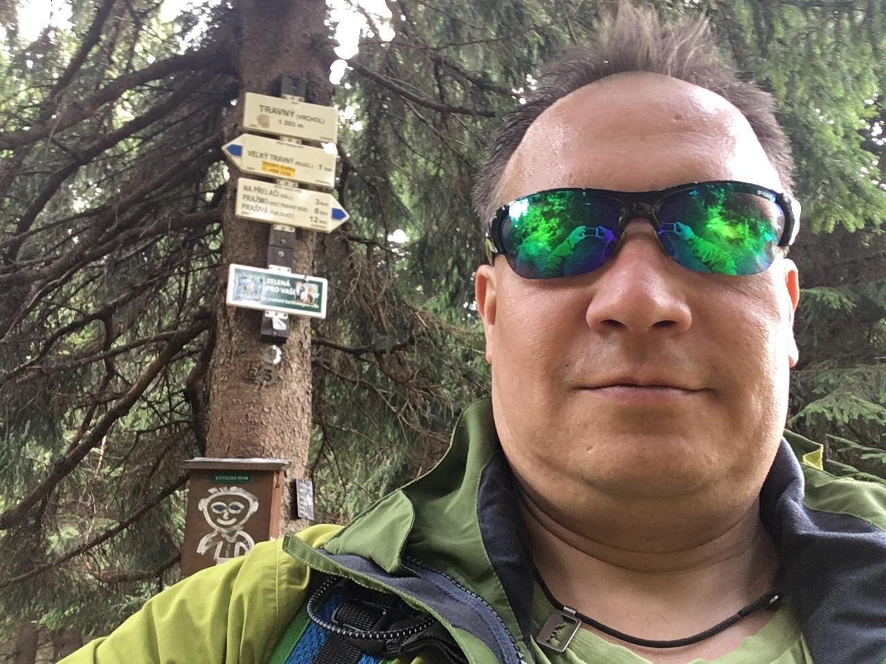Pery na vrcholu Travný (15.4.2018 13:59)