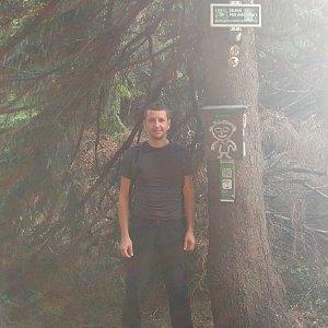 PeteBukař na vrcholu Travný (26.9.2019 16:17)
