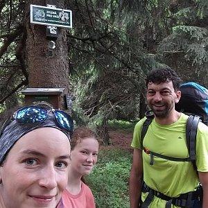 Babunka159 na vrcholu Travný (16.6.2018 10:45)