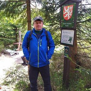 Roman Grebenar na vrcholu Travný (25.4.2020 14:34)