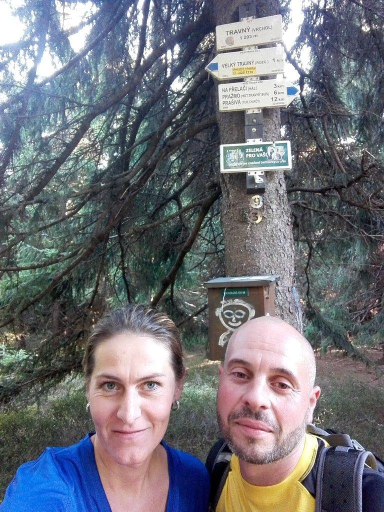 Petule na vrcholu Travný (10.10.2018 15:31)