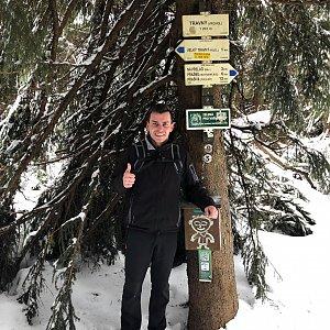 Pospa na vrcholu Travný (24.2.2019 12:53)