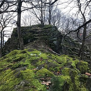 Martin Matějka na vrcholu Kunratický vrch (31.12.2020 15:59)