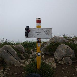 Jiří Tomaštík na vrcholu Hromové (4.7.2020 10:27)