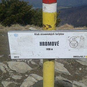 ŠenovKK na vrcholu Hromové (26.4.2019 12:22)